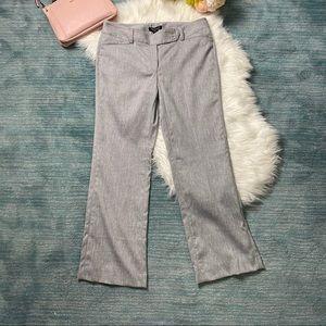 NWT WHBM Grey Modern Boot Trouser Pant Size 10